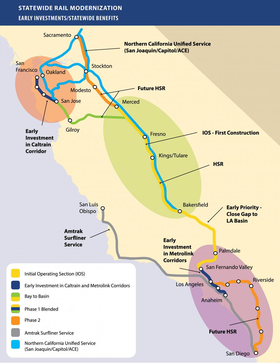 Chapter's stance on California's high-speed rail project | Sierra