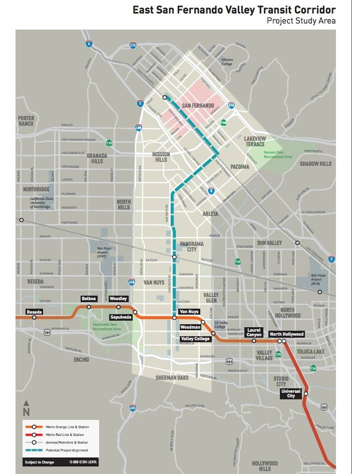 Why the East San Fernando Valley Transit Corridor deserves your