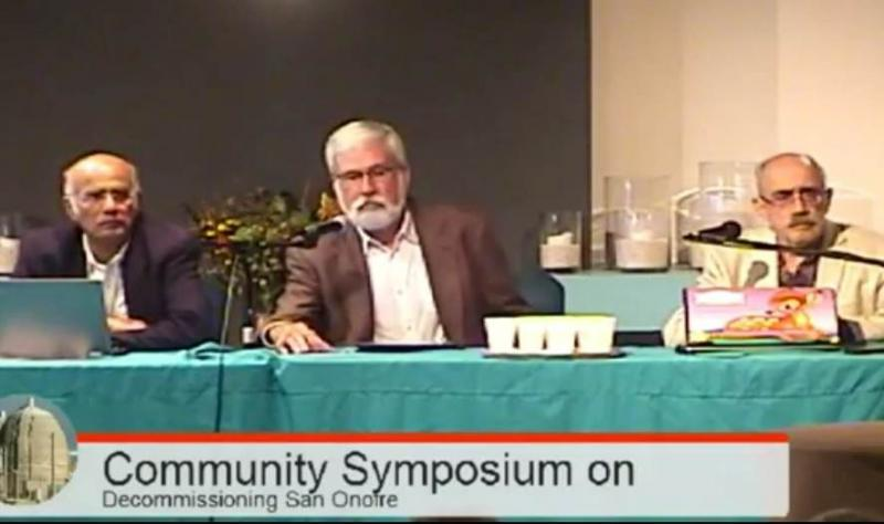 Speakers at Community Symposium on Decommissioning San Onofre